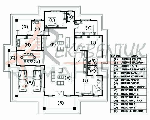 Design Rumah D1 02 4b 3ba 61 X64 2995 Kaki Gi