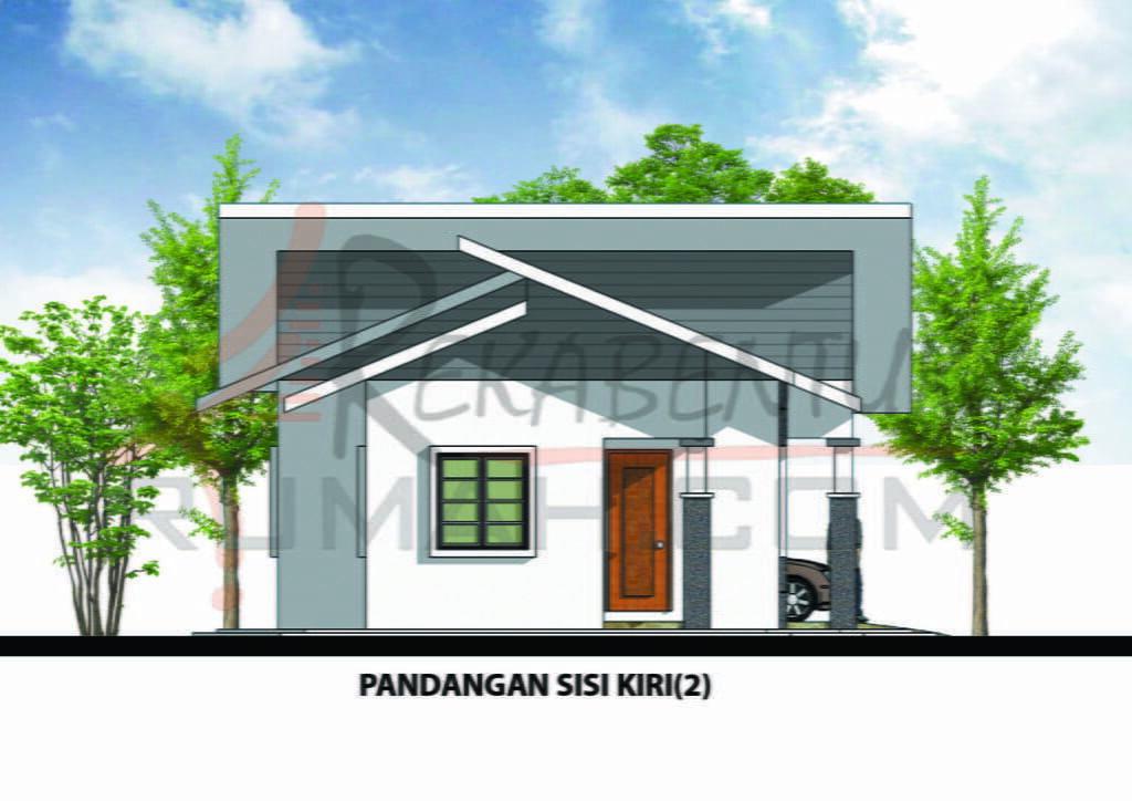 Design Rumah A1 07 3 Bilik 2 Air 40 X25 846 Kaki Gi