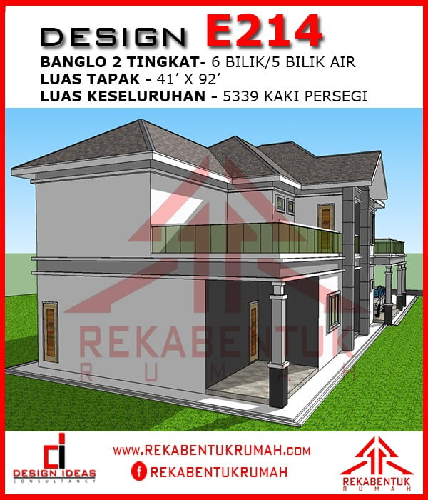 Design Rumah 6 Bilik Galleries Rekabentukrumah