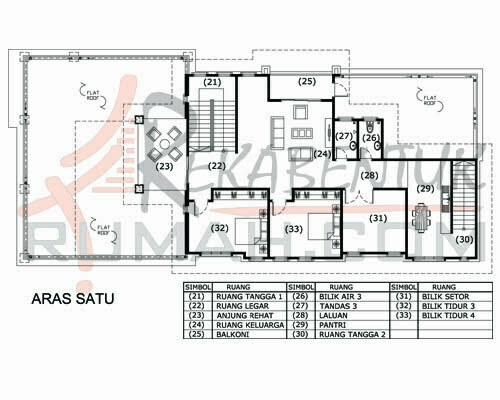 Design Rumah E2 14 6 Bilik 5 Air 41 X92 5339 Kaki Gi