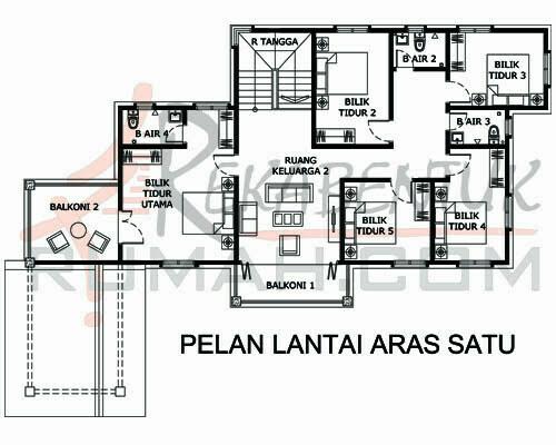 Design Rumah E2 23 6 Bilik 4 Air 86 X76 3266 Kaki Gi