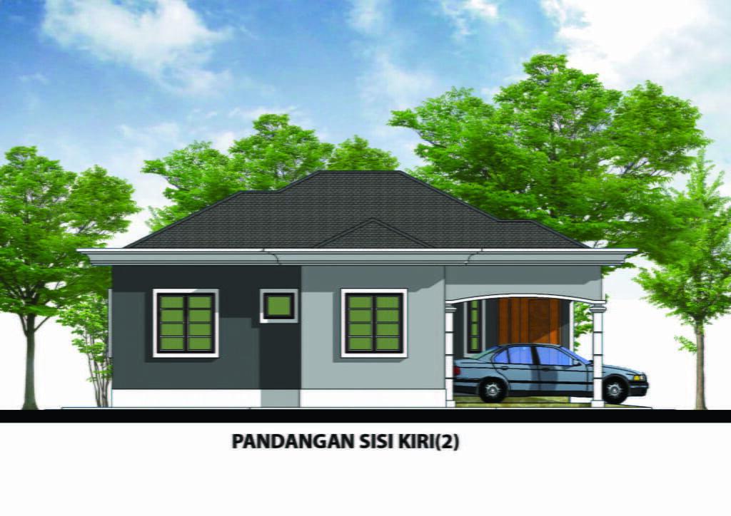 Design Rumah A1 11 3bilik 2bilik Air 33kaki X 38kaki 847 Kaki Gi