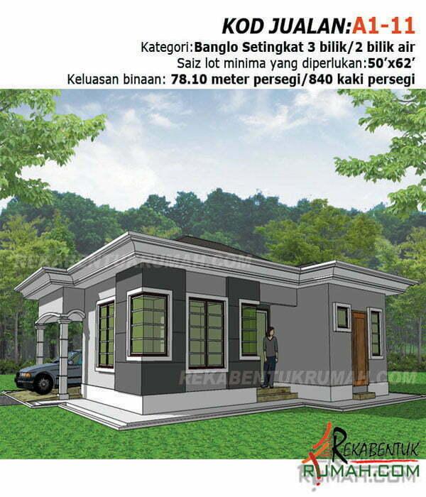 Reka Bentuk Rumah Banglo Moden Design