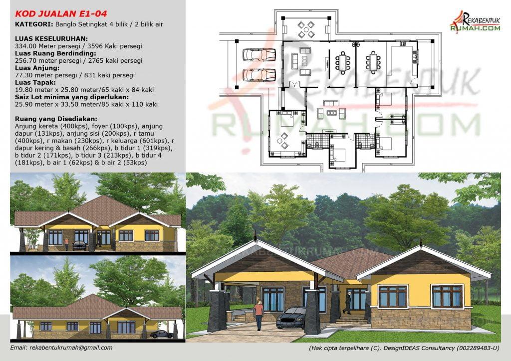 Bagi Membantu Anda Juga Di Dalam Katalog Design Rumah Ini Setiap Rekabentuk Akan Lengkapi Dengan