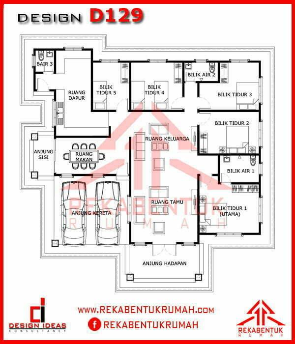 Design Rumah 5 Bilik Galleries Rekabentukrumah