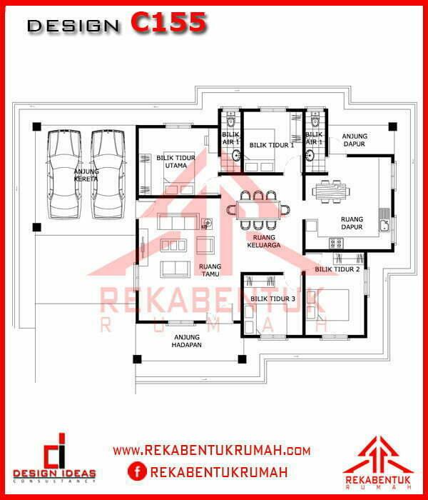 Design Rumah 4 Bilik Galleries Rekabentukrumah